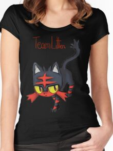 Team Litten Women's Fitted Scoop T-Shirt