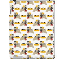 Playful Pug and Food Bowl iPad Case/Skin