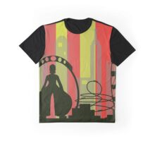 Theme Park 1 - by Anne Winkler Graphic T-Shirt