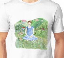 Jane Bennett, Pride and Prejudice and Yoga  Unisex T-Shirt