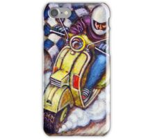 Yellow Vespa Scooter wins iPhone Case/Skin
