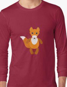 Cute fox pattern Long Sleeve T-Shirt