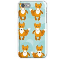 Cute fox pattern iPhone Case/Skin