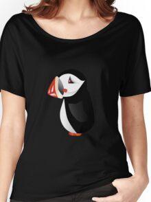 Cute cartoon puffin Women's Relaxed Fit T-Shirt