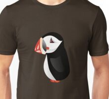 Cute cartoon puffin Unisex T-Shirt