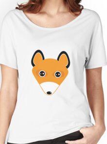 Cute fox face pattern Women's Relaxed Fit T-Shirt