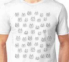 Sketchy cats Unisex T-Shirt