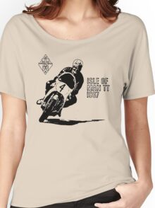 ISLE OF MAN TT 1967 VINTAGE ART Women's Relaxed Fit T-Shirt