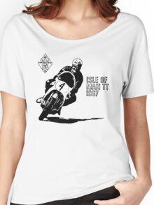 ISLE OF MAN TT 1967 VINTAGE ART Women's Relaxed Fit T-Shirt