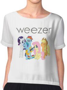 Weezer Pony Chiffon Top