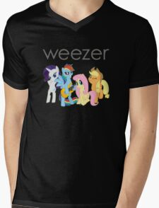 Weezer Pony Mens V-Neck T-Shirt