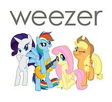 Weezer Pony Photographic Print
