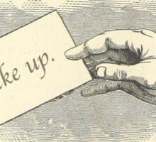 Wake Up Sticker