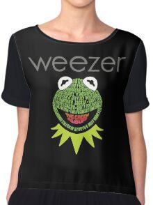 Weezer Muppets Chiffon Top