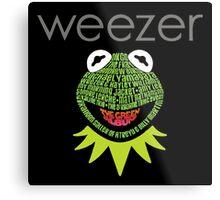 Weezer Muppets Metal Print