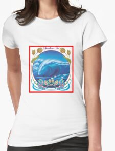 Wave Nouveau revised Womens Fitted T-Shirt