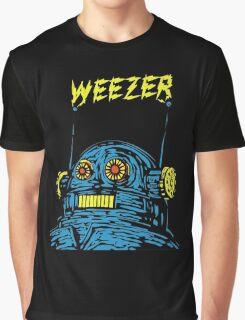 Weezer Robot Graphic T-Shirt