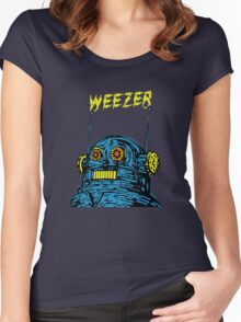 Weezer Robot Women's Fitted Scoop T-Shirt