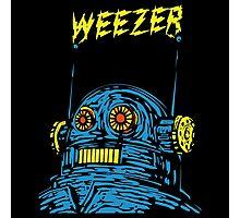 Weezer Robot Photographic Print