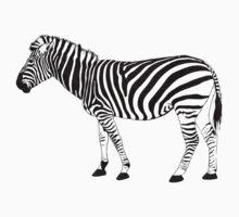 zebra One Piece - Short Sleeve
