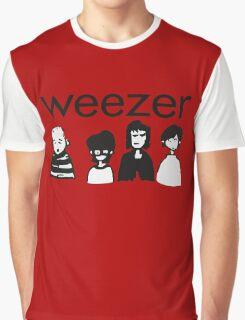 Weezer Doodles Graphic T-Shirt