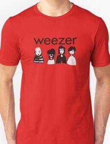 Weezer Doodles Unisex T-Shirt