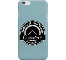 Ollivander's Wand Shop Logo iPhone Case/Skin