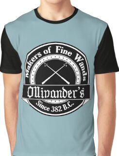 Ollivander's Wand Shop Logo Graphic T-Shirt