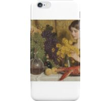 Nicolaas van der Waay (Amsterdam )  The finishing touch,  iPhone Case/Skin