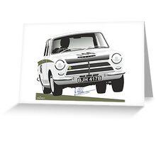 Jim Clark's Ford Cortina Lotus 1964 Greeting Card
