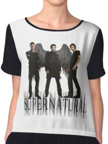 Supernatural FanArt Chiffon Top