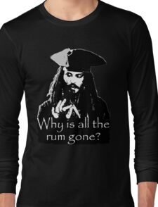 Jack sparrow Long Sleeve T-Shirt