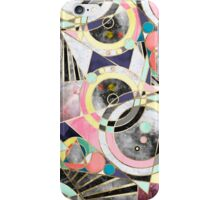 Modern geometric abstract pattern iPhone Case/Skin