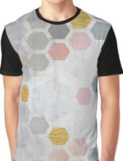 Exagonal Shadows Graphic T-Shirt