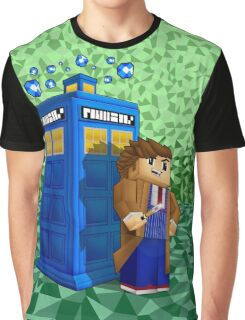 Time traveller in 8bit world Graphic T-Shirt