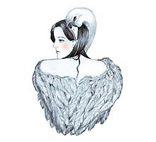 Embrace an angel Photographic Print