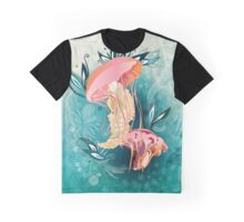 Jellyfish tangling Graphic T-Shirt