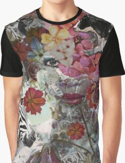 Flora and Fauna Graphic T-Shirt