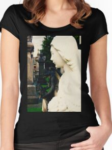 Angel of Purity Women's Fitted Scoop T-Shirt