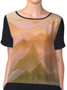 Top of the World (Sunrise) Chiffon Top