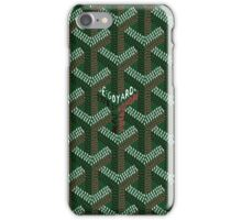 Goyard Green iPhone Case/Skin