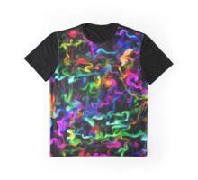 Psychedelic Acid Rainbow Swirls Graphic T-Shirt
