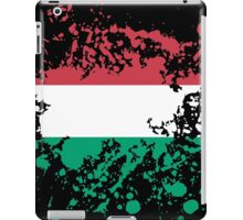 Hungary Flag Ink Splatter iPad Case/Skin