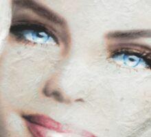 Blue Eyes Blond 22 Sticker