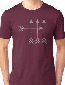 4 arrows hipster arrow archery design Unisex T-Shirt