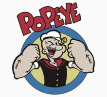 Popeye One Piece - Short Sleeve