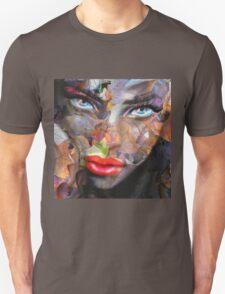 Blue Eyes Autumn Unisex T-Shirt