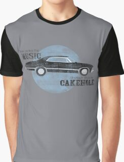 Shotgun shuts his cakehole Graphic T-Shirt