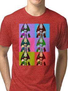 Aleister Crowley Pop Art Tri-blend T-Shirt