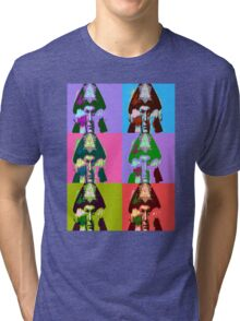 Aleister Crowley Pop Art Tri-blend T-Shirt